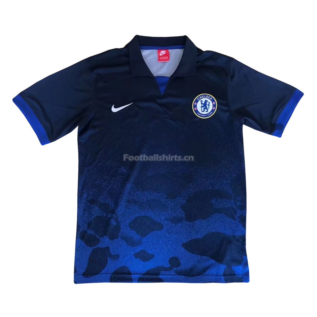 Chelsea Camouflage Blue 2018 Polo Shirt