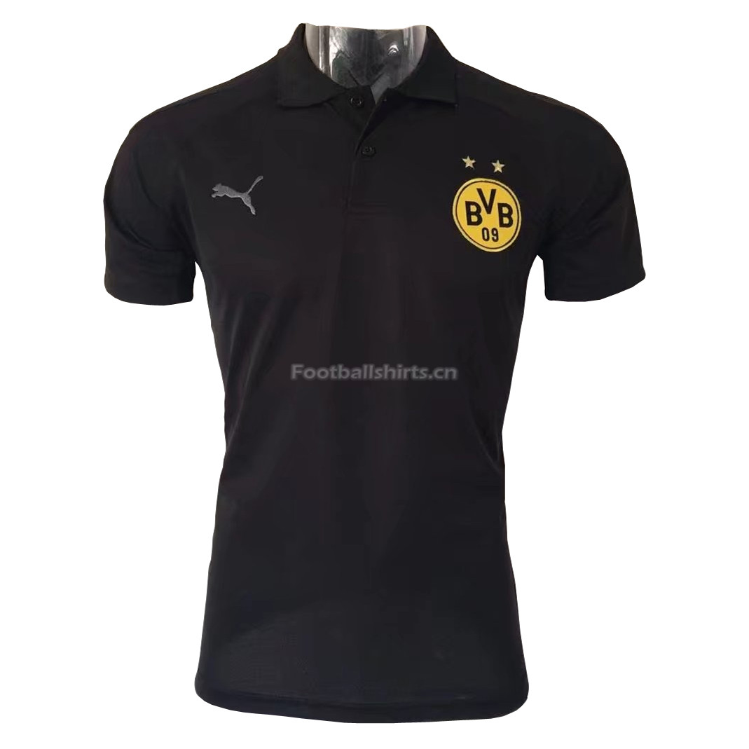 Borussia Dortmund Black 2017 Polo Shirt