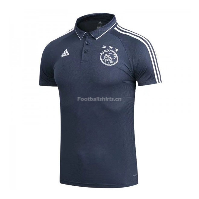 Ajax Navy Polo Shirt 2017/18