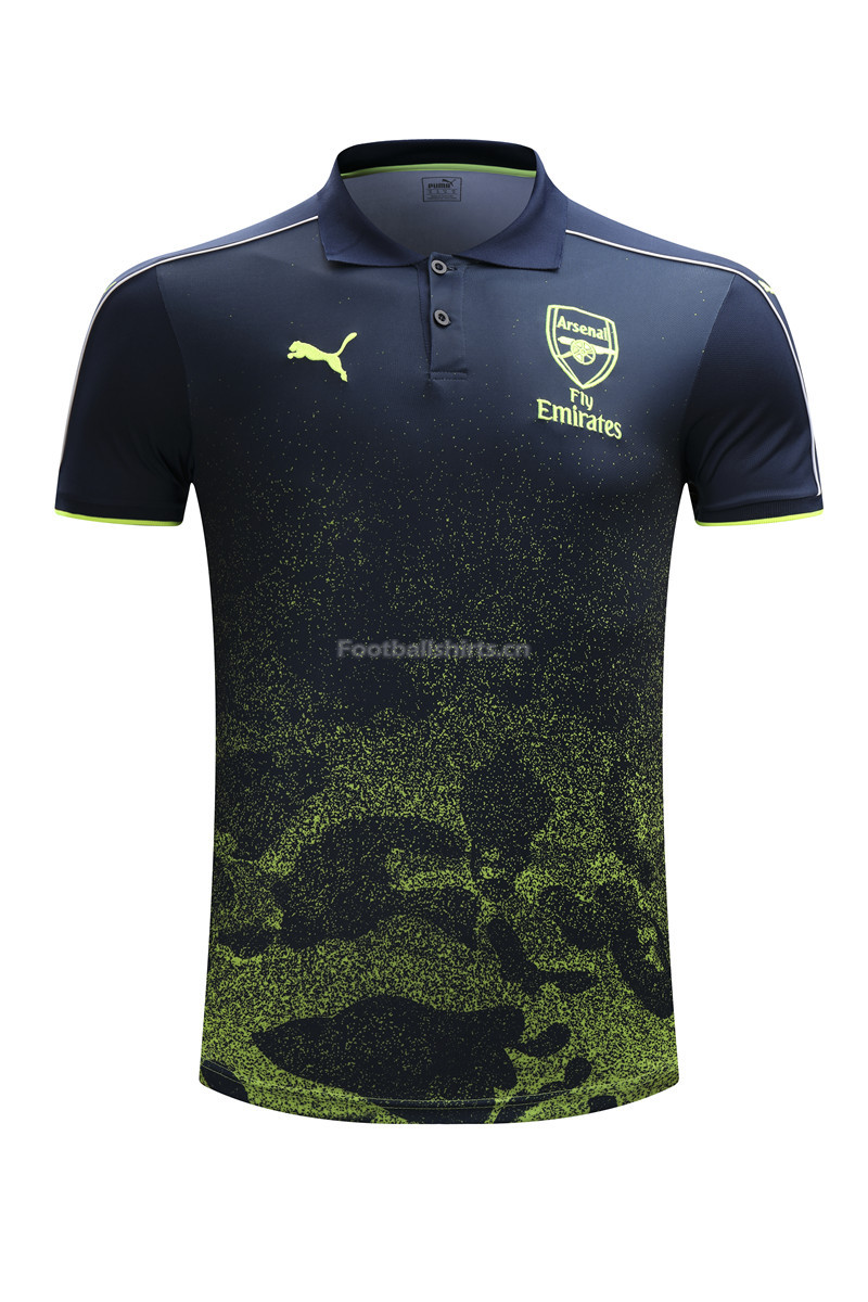 Arsenal Green 2017 Polo Shirt