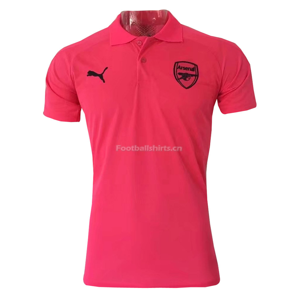 Arsenal 2017 Pink Polo Shirt