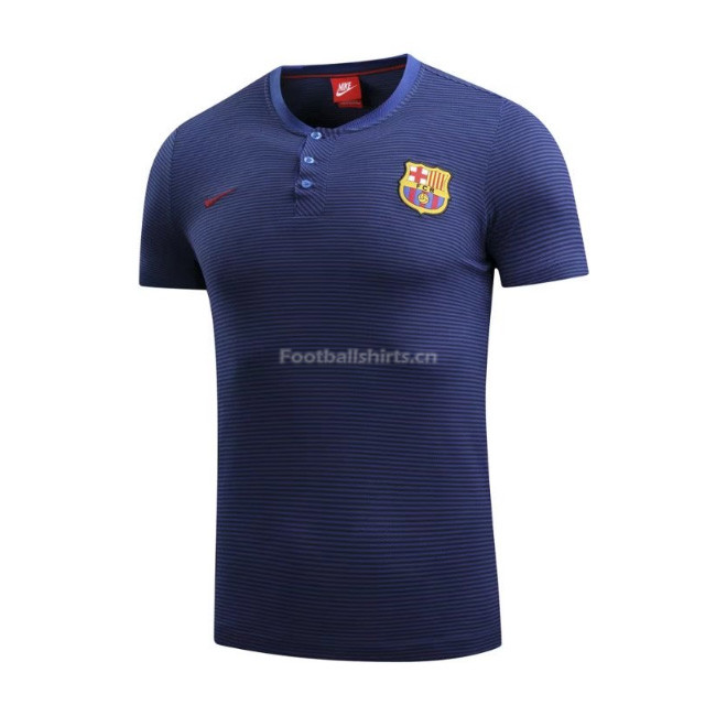 Barcelona Navy Polo Shirt 2017/18