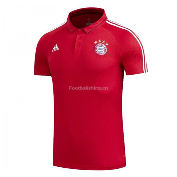 Bayern Munich Red Polo Shirt 2017/18