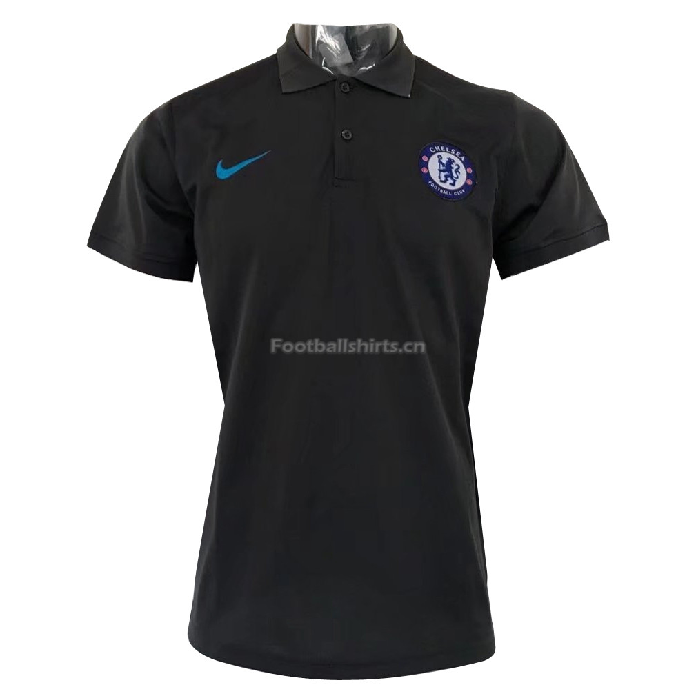 Chelsea Champions League Black 2017 Polo Shirt