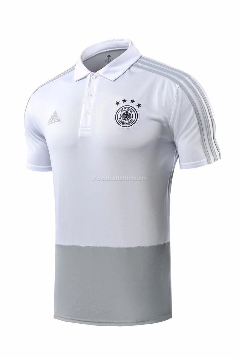 Germany 2018 World Cup White Polo Shirt