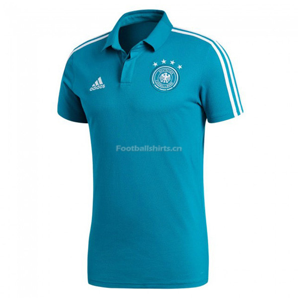 Germany 2018 World Cup Blue Polo Shirt