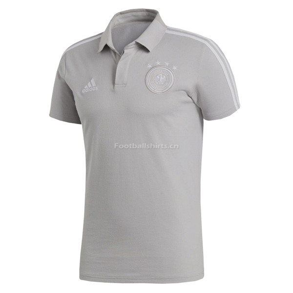 Germany 2018 World Cup Grey Polo Shirt