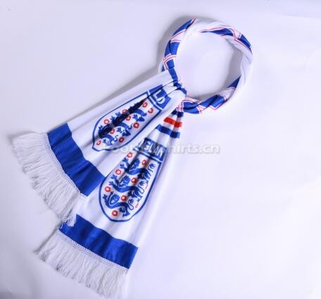 2018 World Cup England Soccer Scarf White