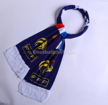 2018 World Cup France Soccer Scarf Blue