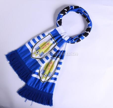 2018 World Cup Uruguay Soccer Scarf Blue