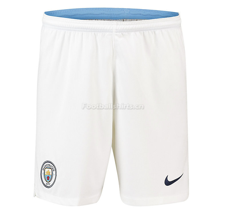 Manchester City Home Soccer Shorts 2018/19