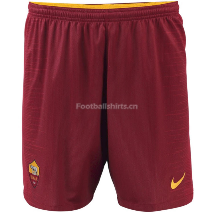 Roma Home Soccer Shorts 2018/19