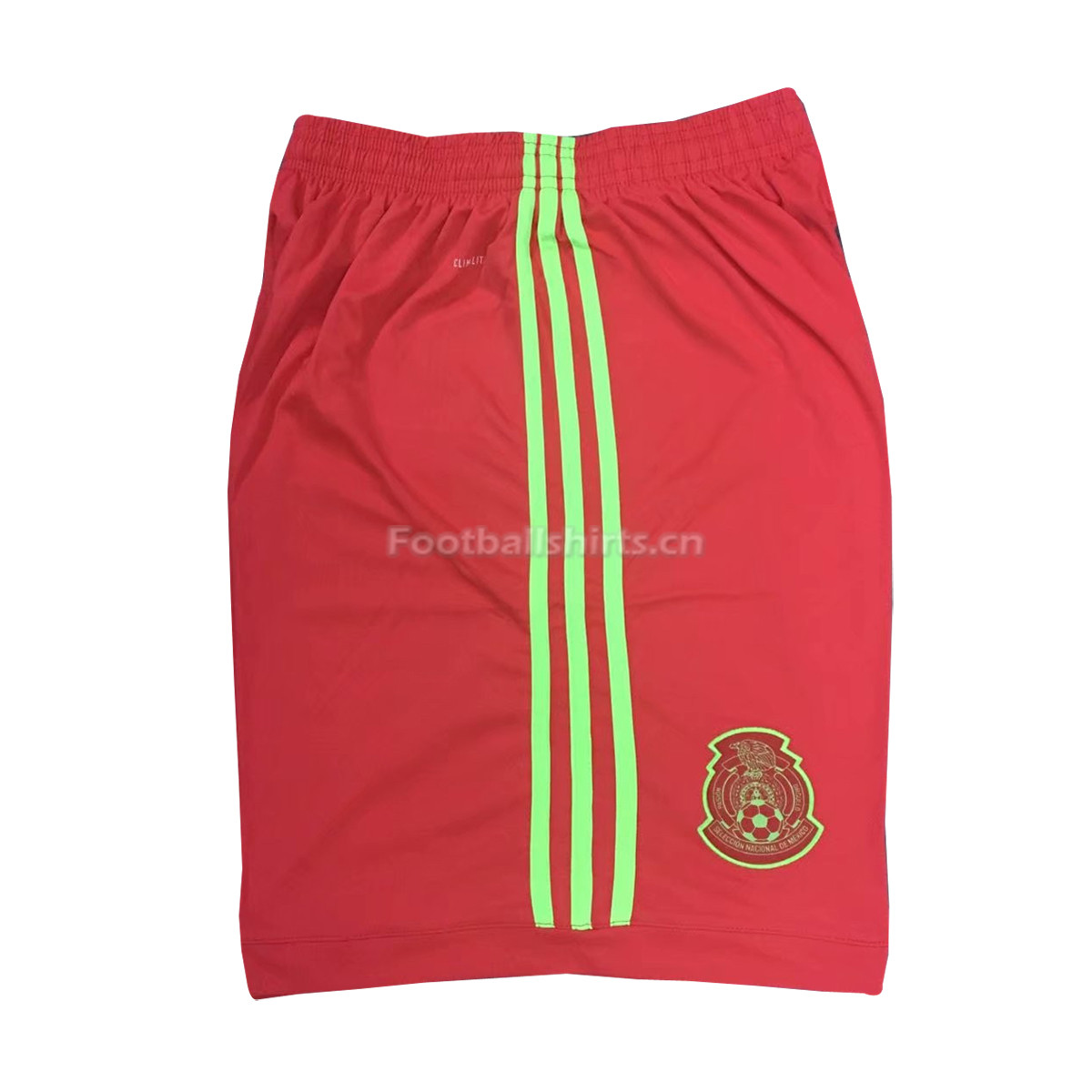 Mexico 2018 World Cup Red Goalkeeper Shorts
