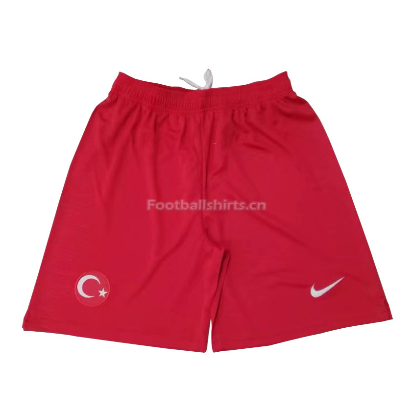 Turkey 2018 Home Soccer Shorts