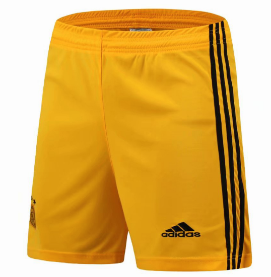 Ajax Goalkeeper Soccer Shorts Yellow 2018/19