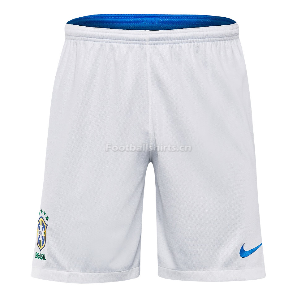 Brazil 2018 World Cup Away Soccer Shorts