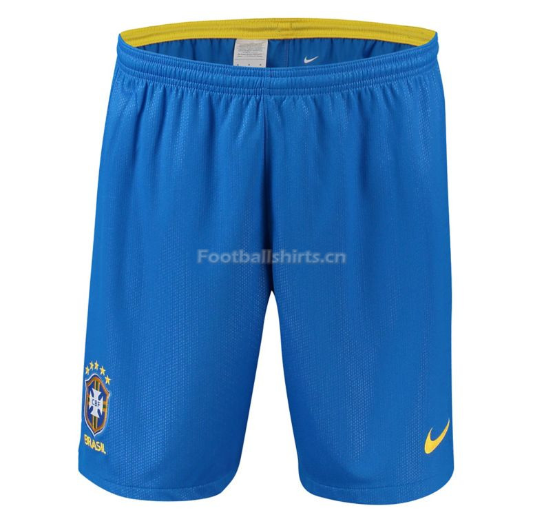 Brazil 2018 World Cup Home Soccer Shorts