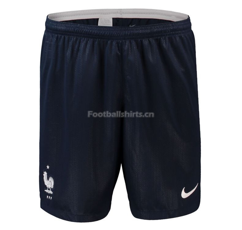 France 2018 World Cup Away Soccer Shorts