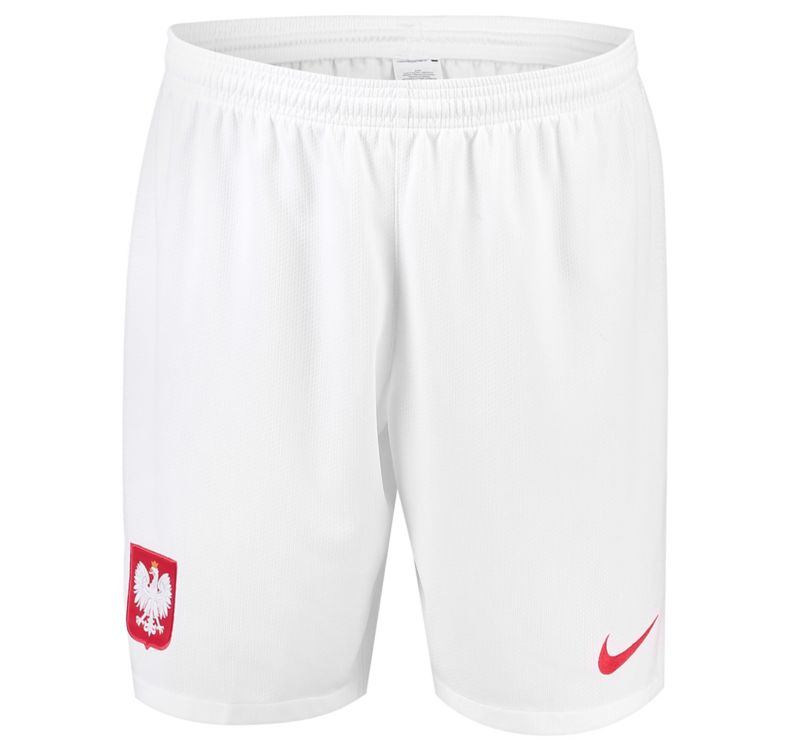 Poland 2018 World Cup Home Soccer Shorts