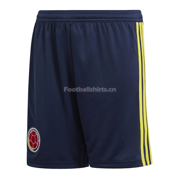 Colombia 2018 World Cup Home Soccer Shorts