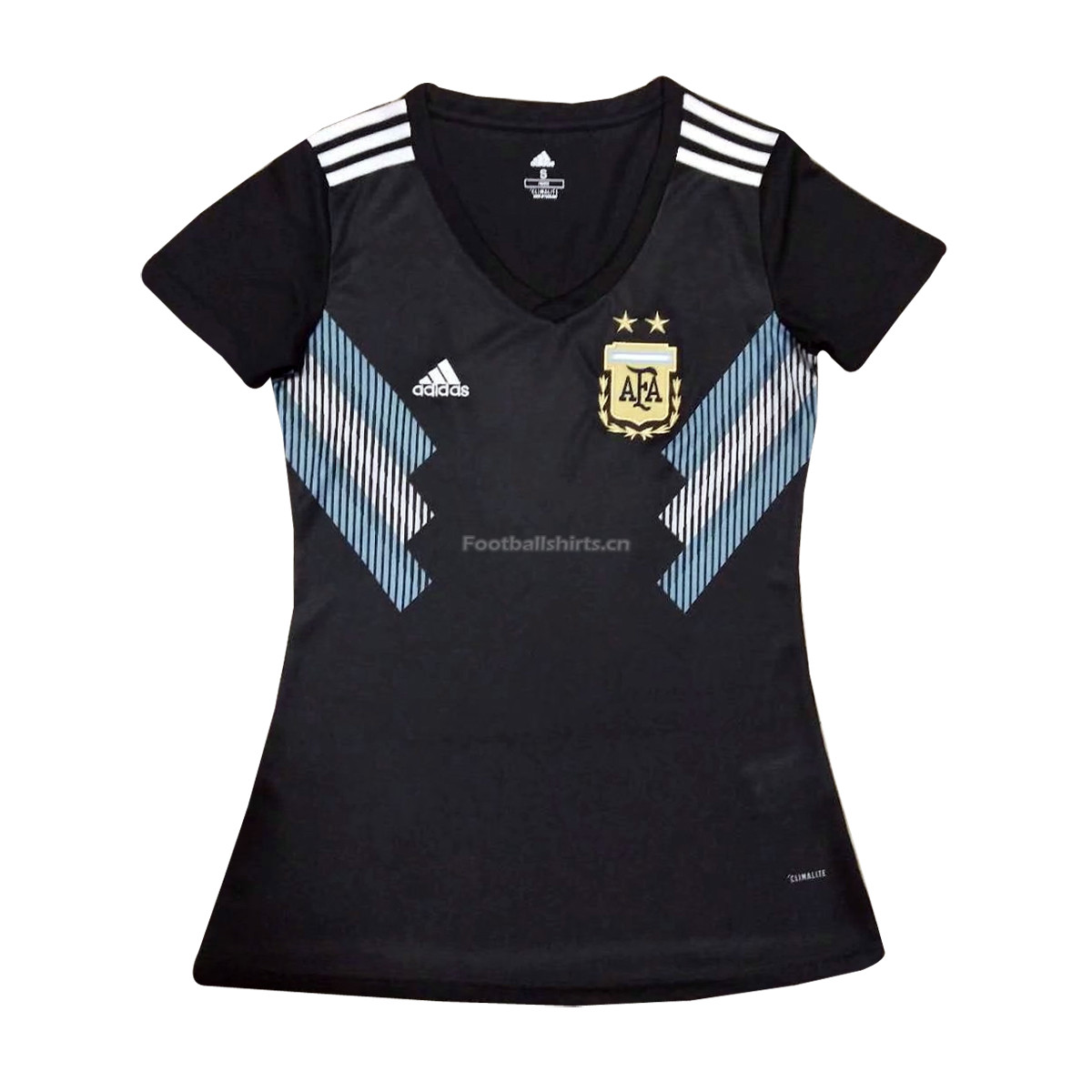 Argentina 2018 World Cup Away Women Soccer Jersey