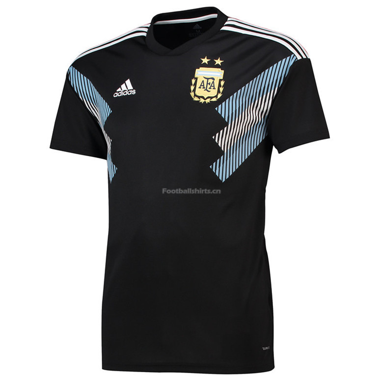 Argentina 2018 FIFA World Cup Away Soccer Jersey