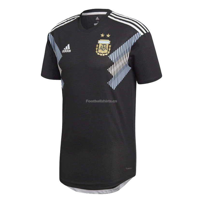 Match Version Argentina 2018 FIFA World Cup Away Soccer Jersey