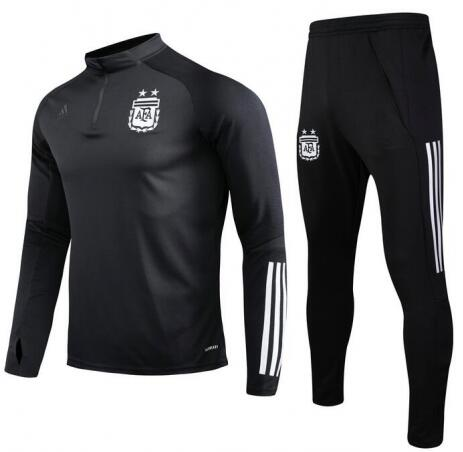 Argentina Training Top Suits Black 2020