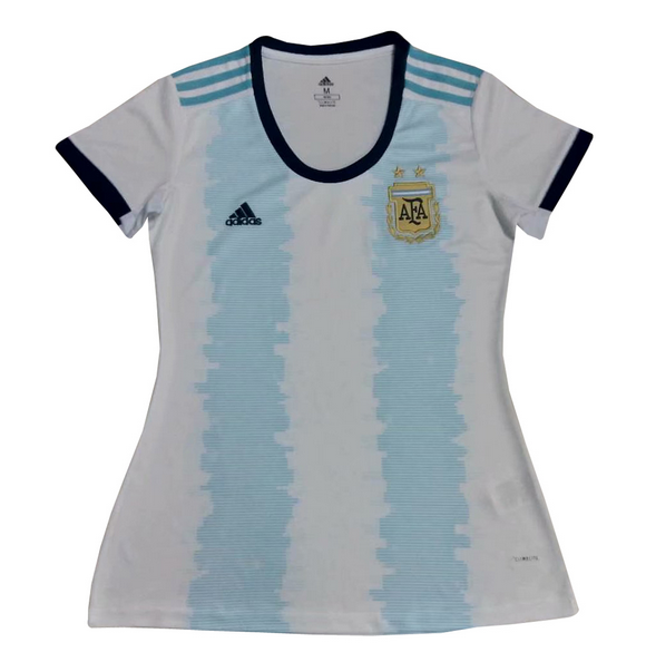 Argentina Home Soccer Jersey Women 2019 Copa America