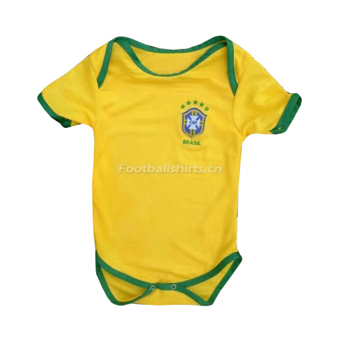 Brazil 2018 World Cup Home Infant Soccer Jersey