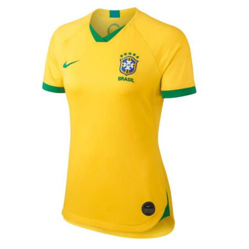Brazil Home Soccer Jersey Women 2019 World Cup
