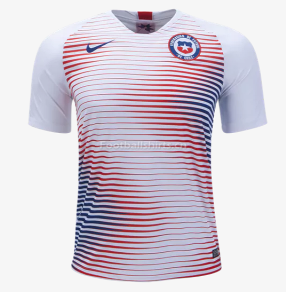 Chile 2018 World Cup Away Soccer Jersey