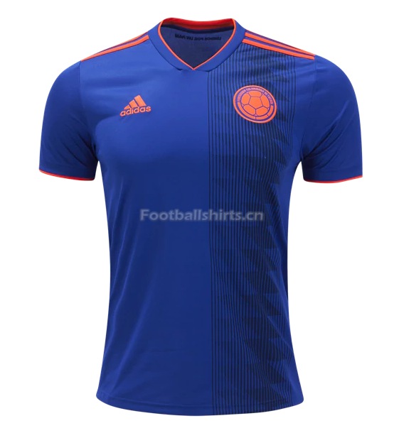 Colombia 2018 World Cup Away Soccer Jersey