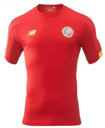 Costa Rica Home Soccer Jersey 2019 Gold Cup