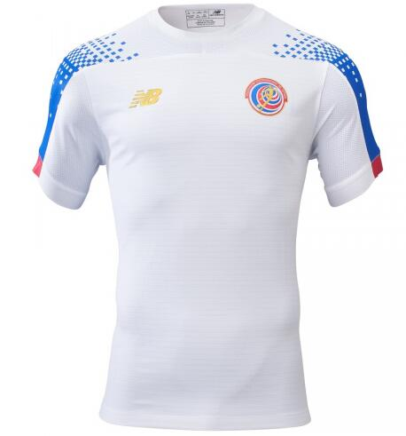 Costa Rica Away Soccer Jersey 2019 Gold Cup