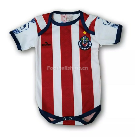 Chivas 2018 World Cup Home Infant Soccer Jersey Baby Suit