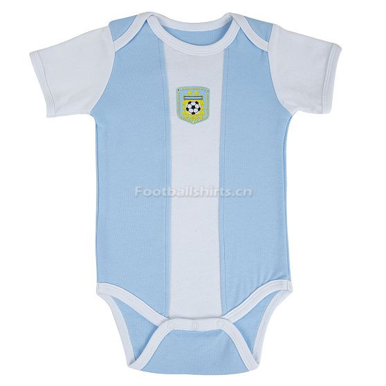 Argentina 2018 World Cup Home Infant Shirt Soccer Baby Suit Romp