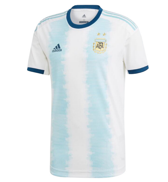 Argentina Home Soccer Jersey Player Version 2019 Copa America