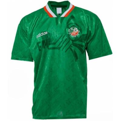 Retro Ireland Home Soccer Jersey 1994