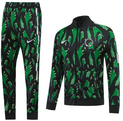Nigeria Training Jacket Suits Green 2020