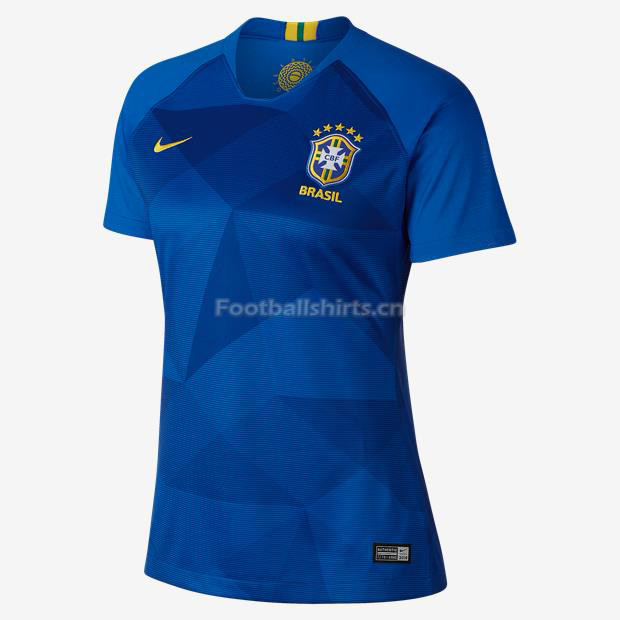 Brazil 2018 World Cup Away Women's Soccer Jersey