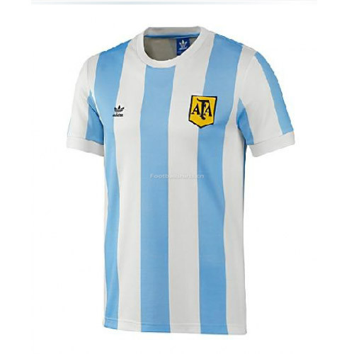 Argentina 1978 Home Retro Soccer Jersey