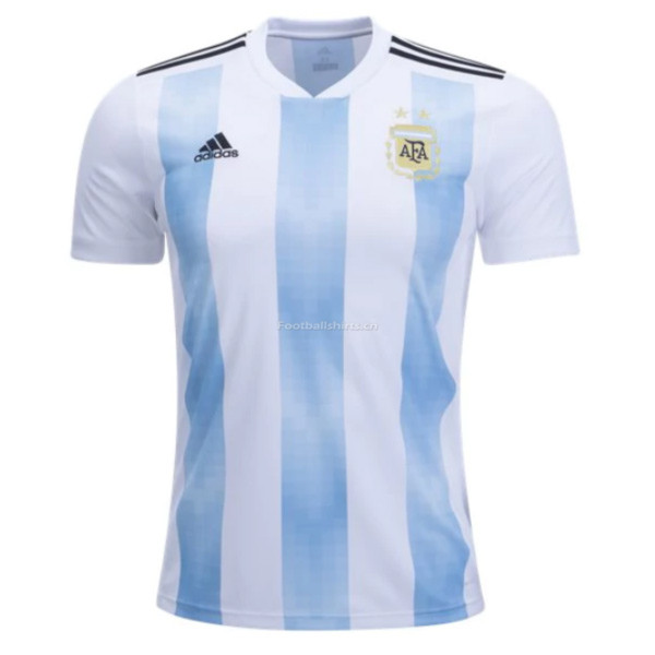 Argentina 2018 World Cup Home Soccer Jersey