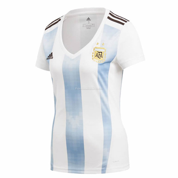 Argentina 2018 World Cup Home Women Soccer Jersey