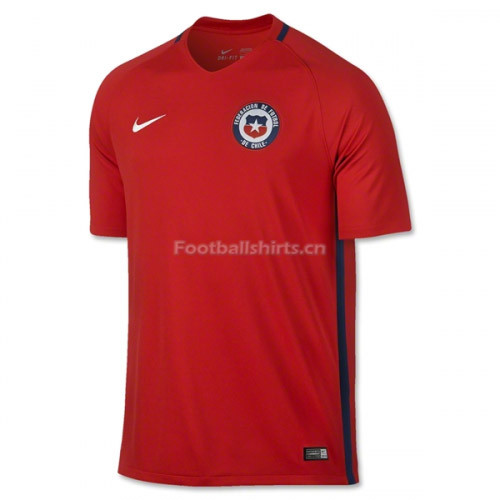 Chile 2016/17 Home Soccer Jersey