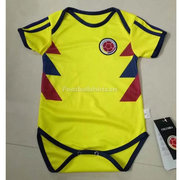 Colombia 2018 World Cup Home Infant Soccer Jersey