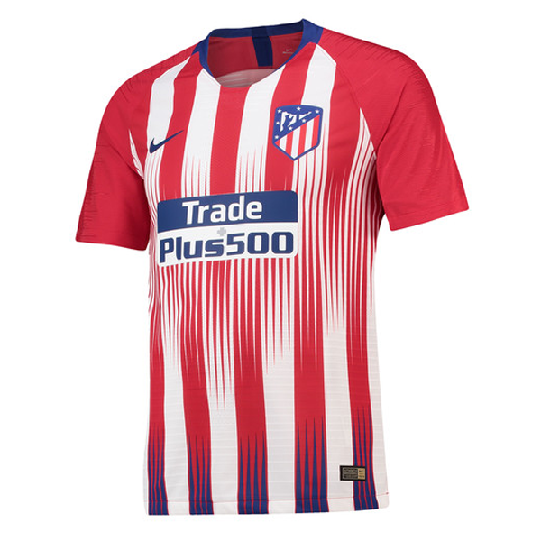 Match Version Atletico Madrid Home Soccer Jersey 2018/19