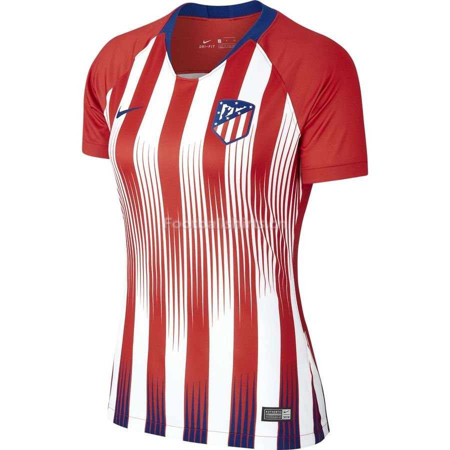 Atletico Madrid Home Women's Soccer Jersey 2018/19