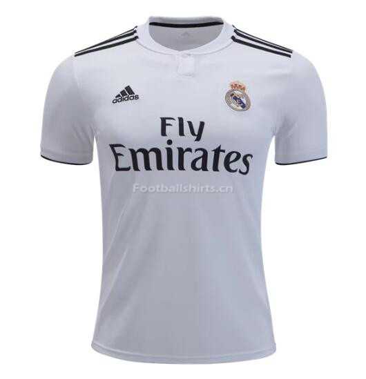 Real Madrid Home Soccer Jersey 2018/19