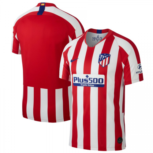 Atletico Madrid Home Soccer Jersey 2019/20